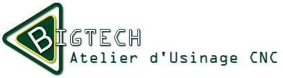 Big-Tech Atelier d'Usinage CNC Logo